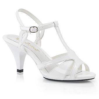 Fabulicious Women's Zapatos BELLE-322 Wht Pat/Wht