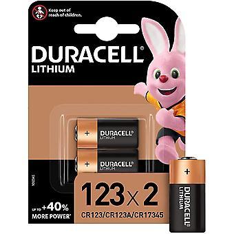 High Power Lithium 123 Batterie 3 V, 2er Pack (CR123 / CR123A / CR17345) für Arlo Kameras, Foto
