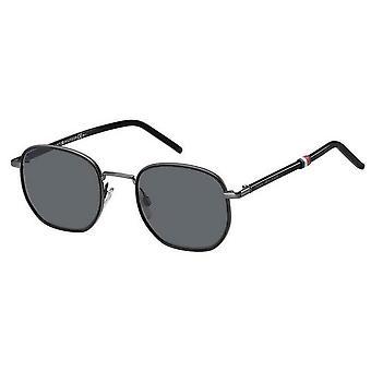 Tommy Hilfiger Rimless Sunglasses - Black