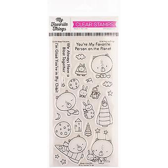 """Meine Lieblingsdinge Eindeutig sentimentale Briefmarken 4""""X8"""" - Blastoff Buddies"""