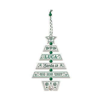 التاريخ وهيرالدري عيد الميلاد شجرة الديكور - لوكا 269800560 اليد الخشبية وضعت