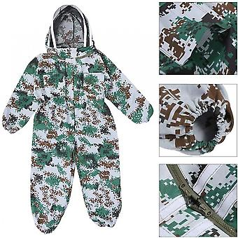Protective Clothing Breathable Cotton Clothing With Protective Cap Is Cool And Comfortable (camouflage) Xxl