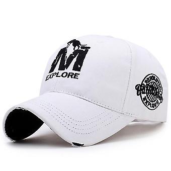 Men's Baseball Hat Wolf Embroidery Cap