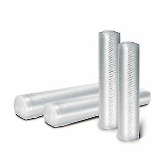 Household storage containers 20cm x 12 metre roll bpa free - made in italy- vacuum food sealer embossed rolls - by ltd 2 x