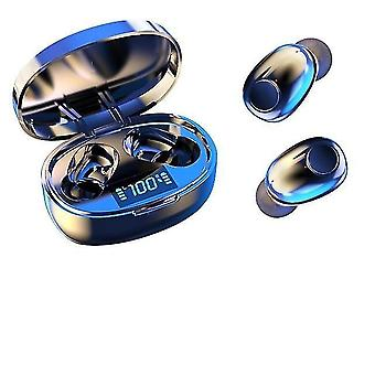Wireless Noice Cancelling Kopfhörer tws Bluetooth 5.0 Mini-Ohrhörer mit Stereo-Bass und LED-Power
