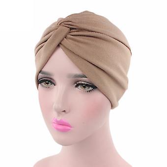 Női Turbán wraps muszlim Chemo Cap Hijab Hat Bandana Head Sál