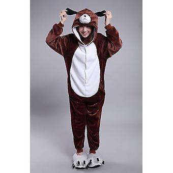 Toamna și iarna Flanel Cuplu desene animate pijamale animale pijamale Cosplay Party