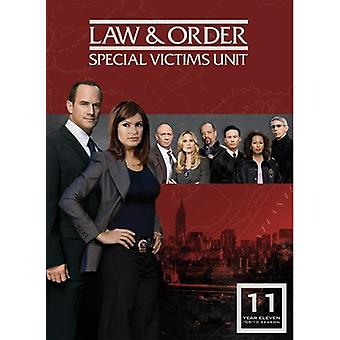 Law & Order: Special Victims Unit - Year Eleven [5 Discs] [DVD] USA import