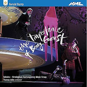 Barbara Hannigan - Gerald Barry: The Importance of Being Earnest [CD] USA import
