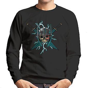 Ragnarok Thor Skull Cross zwaarden mannen Sweatshirt