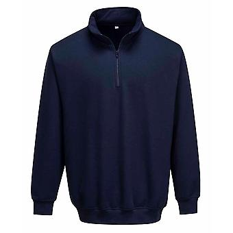 Portwest Work-Casual - Sorrento Zip Neck Sweatshirt