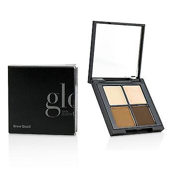Glo piele Beauty sprâncene Quad-# Brown-4.15 g/0.14 oz