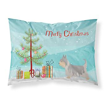 Australian Silky Terrier Christmas Fabric Standard Pillowcase