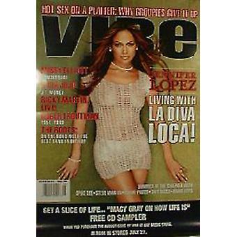 Jennifer Lopez Vibe Poster