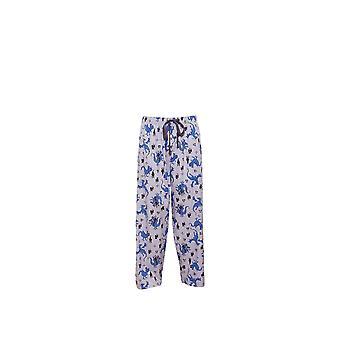Cyberjammies 6198 Männer Drake grau Motiv Pyjama Pant