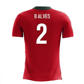 2020-2021 Portugal Airo Concept Home Shirt (B Alves 2)