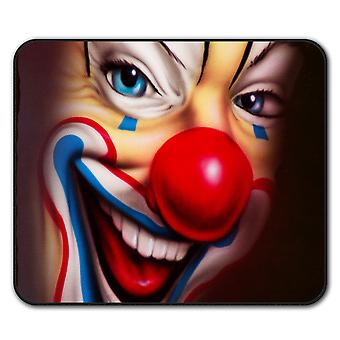 Clown Scary Creepy  Non-Slip Mouse Mat Pad 24cm x 20cm | Wellcoda