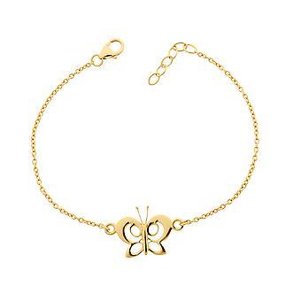 Orphelia Silber 925 Armband Gold Schmetterling ZA-7074/1
