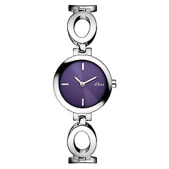 s.Oliver Damen-Armbanduhr Analog Quarz SO-15088-MQR