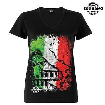 Zoonamo T-Shirt dames klassiek Italië