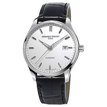 Frédérique Constant Mens classiques du répertoire automatique cuir noir bracelet FC-303S5B6 montre