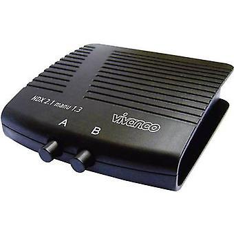 2ポートHDMIスイッチ1920 x 1080 p Vivanco 25349 ブラック