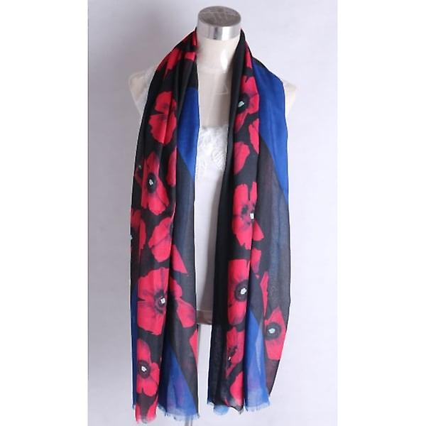 Union Jack Wear Union Jack Poppy Scarf