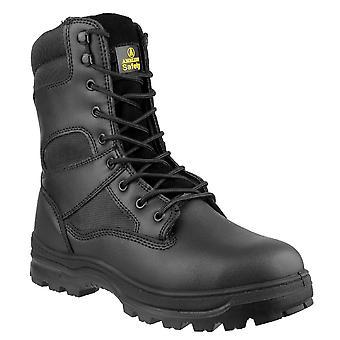 Gibt Mens FS008 Stahl Toe & Zwischensohle Leder Sicherheit Stiefel S3-SRC