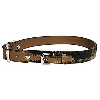 Rosewood Luxury Leather Dog Collars and Leads (Various Colous & Sizes)