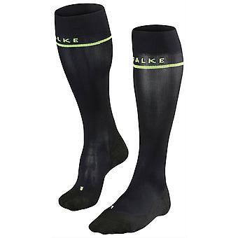 Falke ממריץ מגניב גרביים גבוהות הברך-שחור