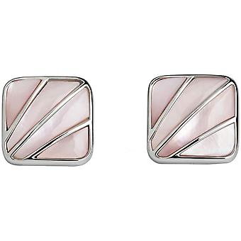 Simon Carter Deco Fan Mother of Pearl Cufflinks - Pink