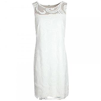 Frank Lyman Sleeveless Lace Detail Shift Dress