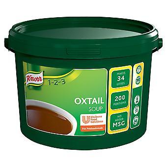 クノールのオックス テール スープ ミックス