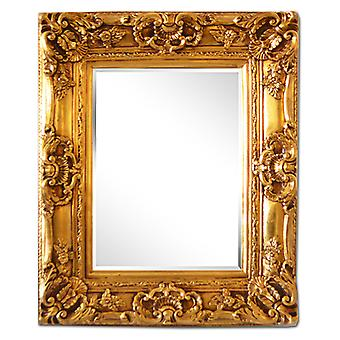 50x60 cm or 20x24 inch, mirror in gold
