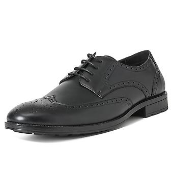 Mens Queensberry Jacob Wingtip Office Smart Brogues Formal Work Shoes UK 6-14