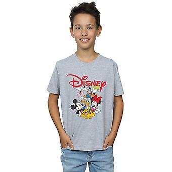Disney Boys Mickey Mouse Crew T-Shirt