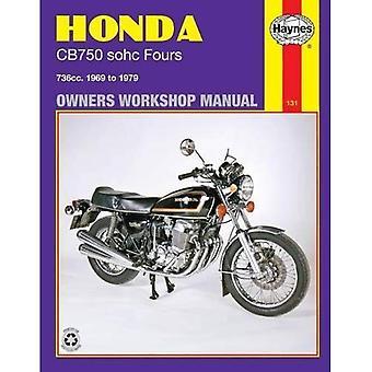 Honda 750 4 cilinder Workshop handleiding (motorfiets handleidingen)