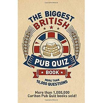 Die größte britische Pub Quiz-Buch