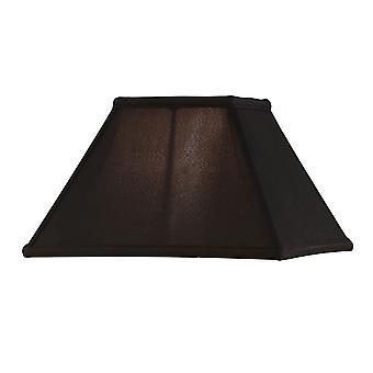 Alice dodici pollici nero Faux seta ombra - interni 1900 AL12BL