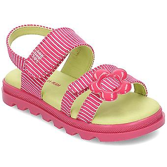 Agatha Ruiz De La Prada 192946 192946AFUCSIAYRAYAS2528 scarpe universali per bambini estivi
