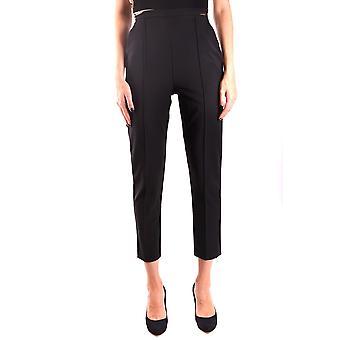 Elisabetta Franchi Ezbc050126 Women's Black Nylon Pants