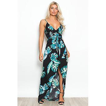 Leaf Maxi klänning
