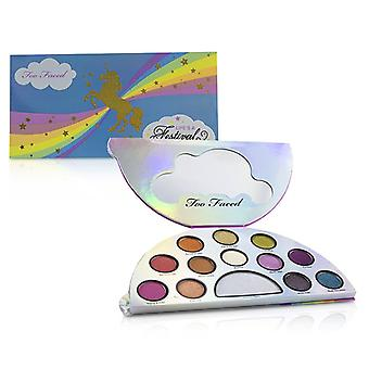 Too Faced Life's A Festival Ethereal Eye Shadow & Highlighting Palette - 12.6g/0.47oz