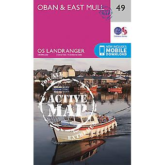 Oban & East Mull (February 2016 ed) by Ordnance Survey - 978031947372
