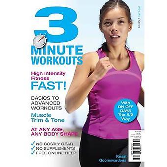 3 Minute Workouts by Kusal Goonewardena - 9781925265132 Book