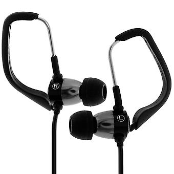 Forever Wired Sports Earbuds Contour Earbuds Black