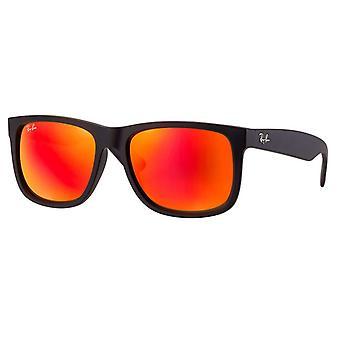 Ray-Ban Justin Farbe mischen Unisex-Sonnenbrille - RB4165-622/6Q-51