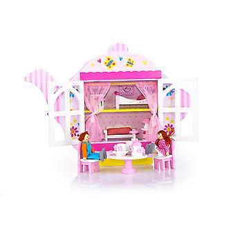 Leomark teekannu puinen Dolls House