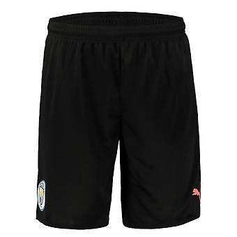 2019-2020 fotbalová šortky Manchester City (černá)