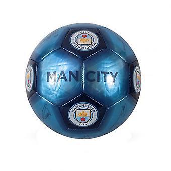 Manchester City dygtighed bold underskrift